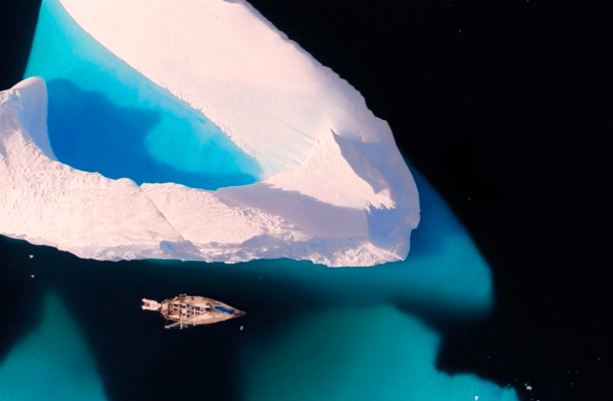 Meditate to this 8-Minute Film of One Man's Epic Antarctica Journey (VIDEO)