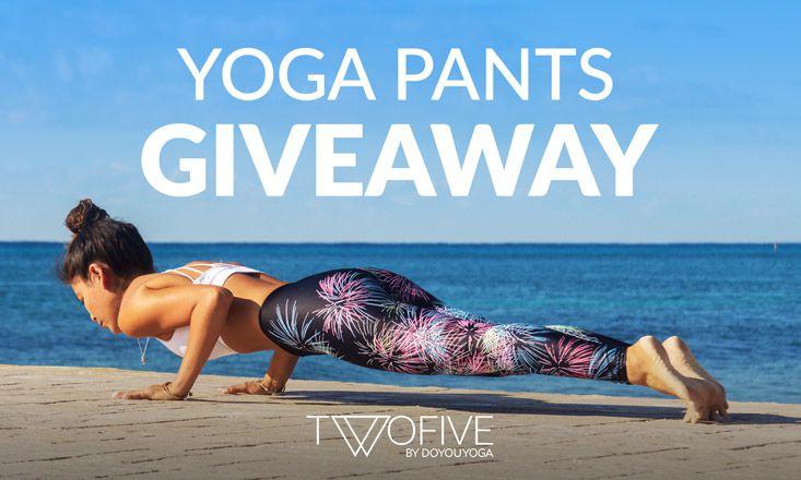 Giveaway – Limited Edition △TWOFIVE△ Yoga Pants