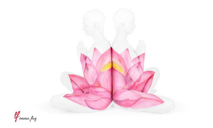"""""""The Union of Yoga"""" Combines Art with the Human Body to Bring Asanas to Life"""