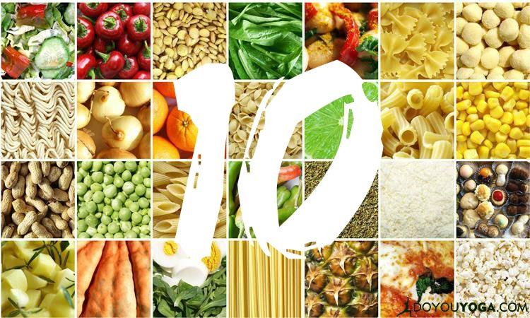 10 Foods to Support Your Yoga Practice