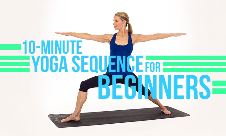 10-Minute Beginner's Yoga Sequence to Help You Unwind