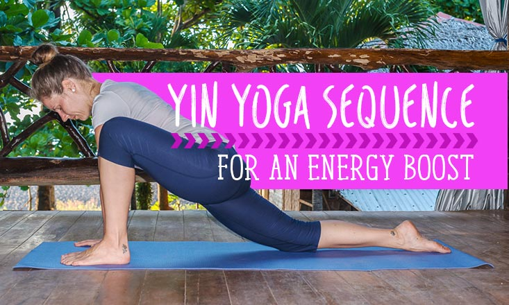 15-Minute Yin Yoga Sequence to Boost Your Energy