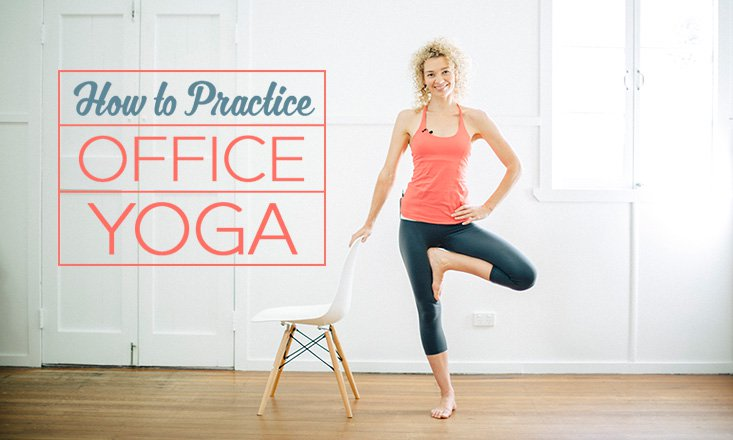3 Yoga Poses for the Office