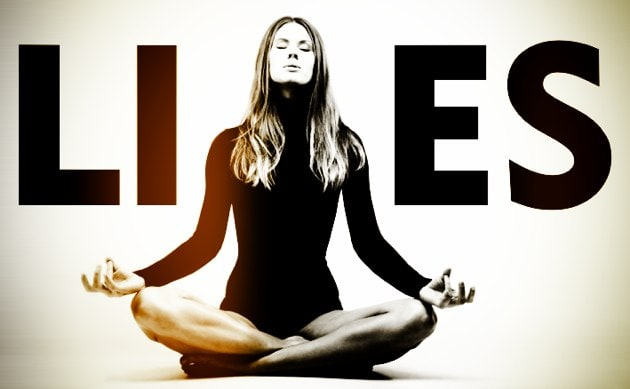 4 Lies We Tell Ourselves On The Yoga Mat