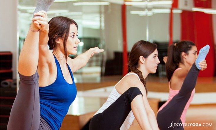 4 Things NOT to Do If You Struggle In Yoga Class