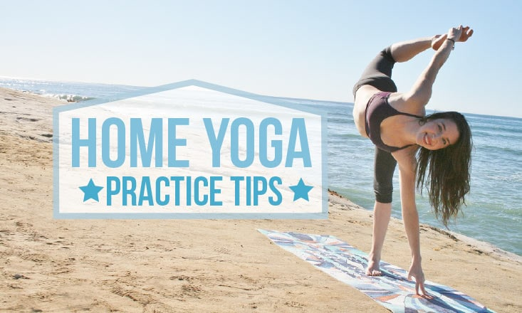 5 Steps to Starting (And Maintaining) a Home Yoga Practice