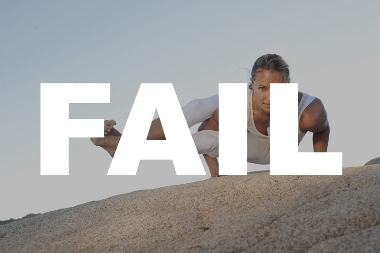5 Yoga Fails You Can (Probably) Not Avoid