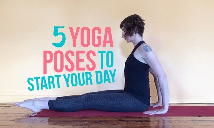 5 Yoga Poses for When You Don't Know Where to Start