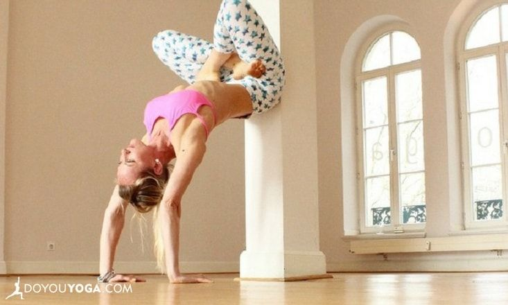 5 Useful Ways to Use a Wall to Improve Your Backbend Practice