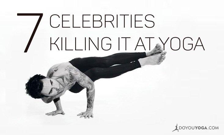 7 Celebrities Killing It At Yoga!