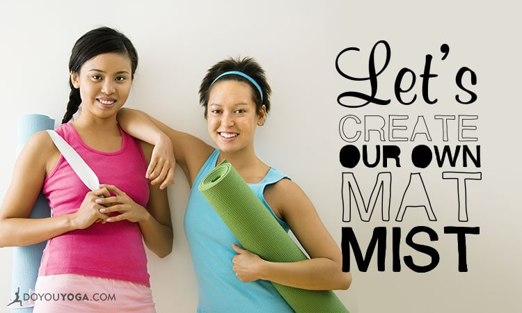 8 Yoga Mat Spray Recipes Every Yogi Needs