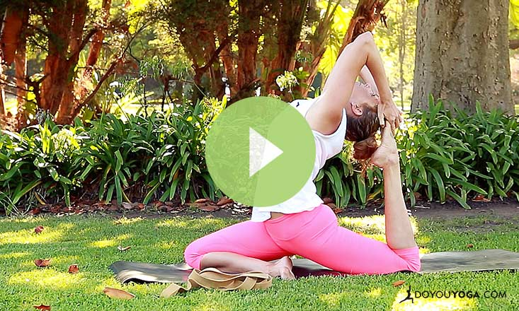 A Quick Guide to One-Legged King Pigeon Pose (VIDEO)