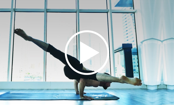 An Inspiring Yoga Arm Balance Demo With Ty Landrum (VIDEO)
