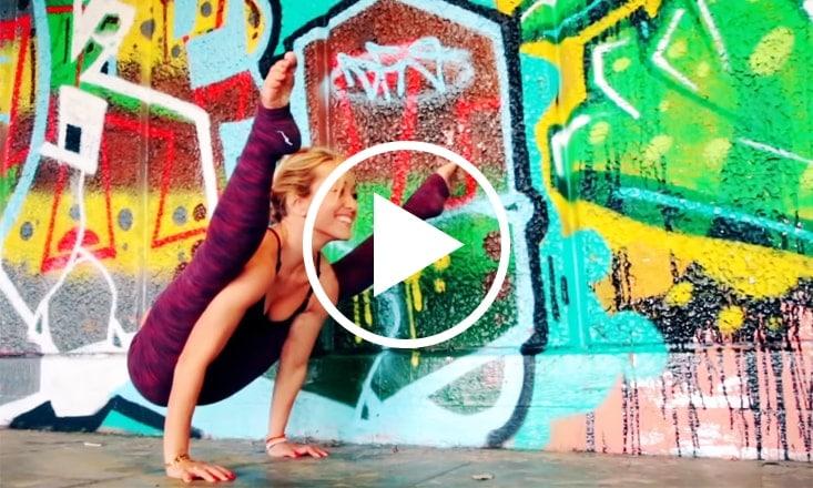 Around the World Yoga Demo with Kino MacGregor (VIDEO)