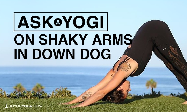 Ask a Yogi: My Arms Shake in Down Dog – Is This Normal?