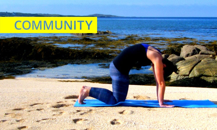 Five-Minute Yoga to Ease Anxious Minds