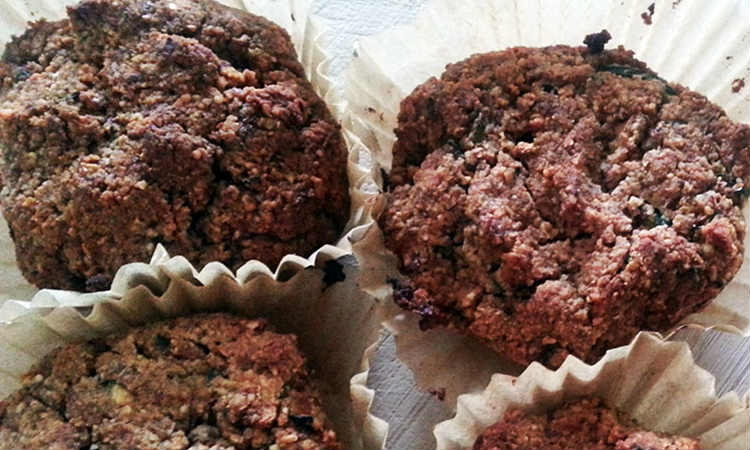Healthy Recipe: Grain & Gluten-Free Hazelnut Zucchini Breakfast Muffins