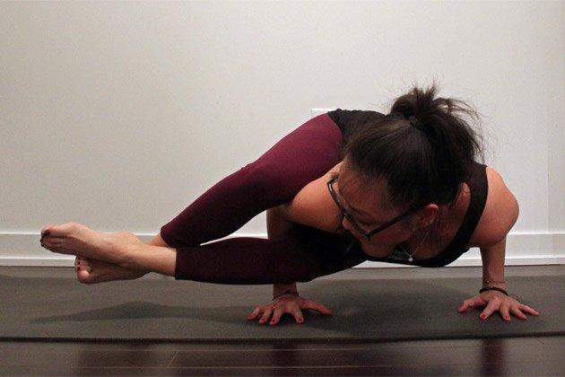 How To Do Eight-Angle Pose