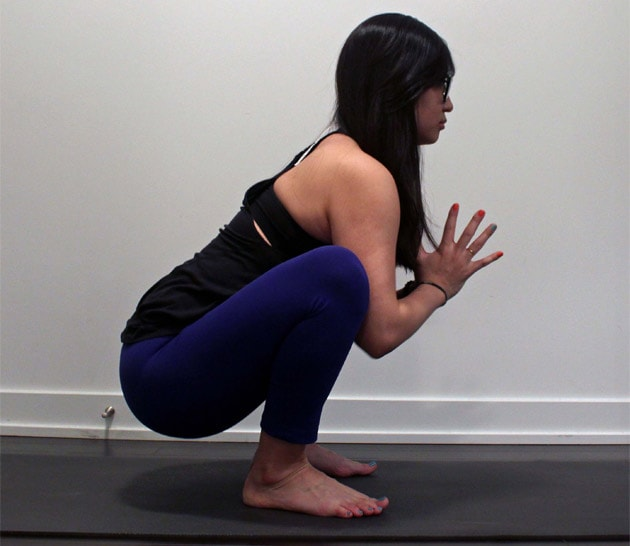 How To Do Garland Pose
