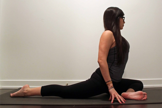 How To Do Pigeon Pose (Variation)