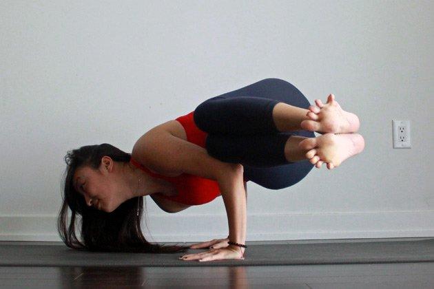 How To Do Side Crow Pose