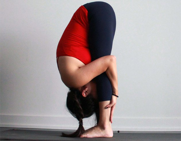 How To Do Standing Forward Bend Pose