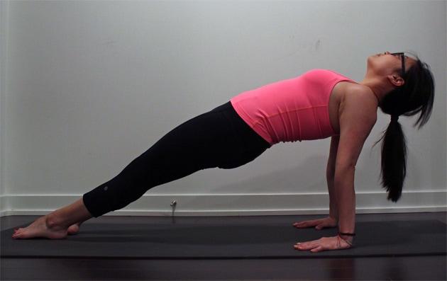 How To Do Upward Plank Pose