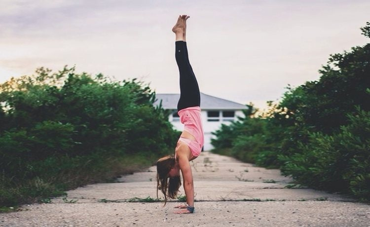 How To Get Into Handstands When You Have Weak Wrists