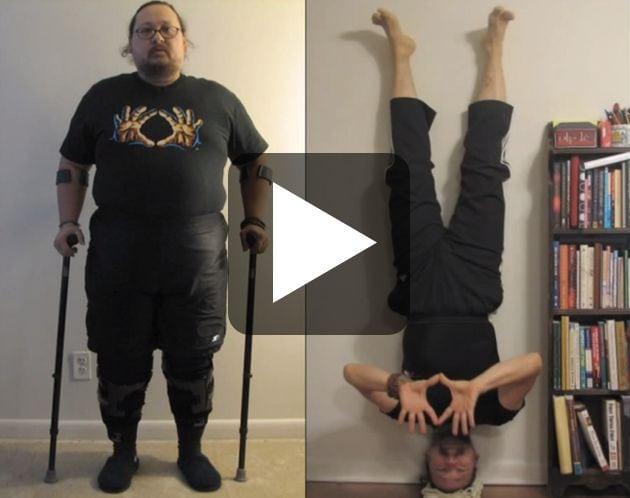 How a Disabled War Veteran Learned to Walk Again Through Yoga