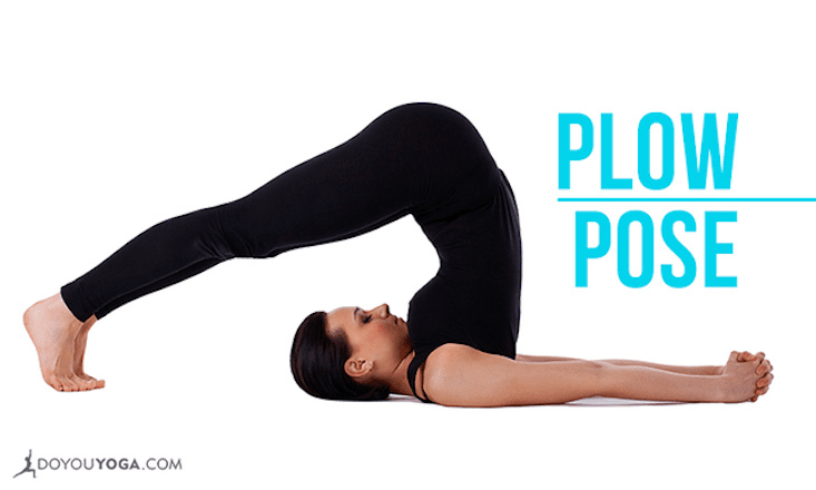 How to Do Plow Pose