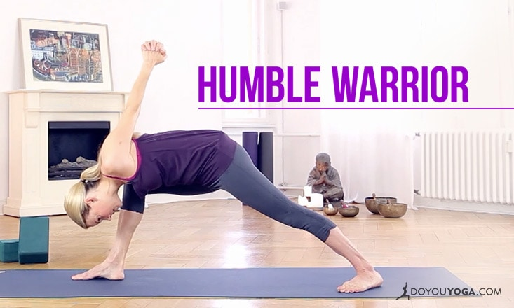 How to do Humble Warrior Pose