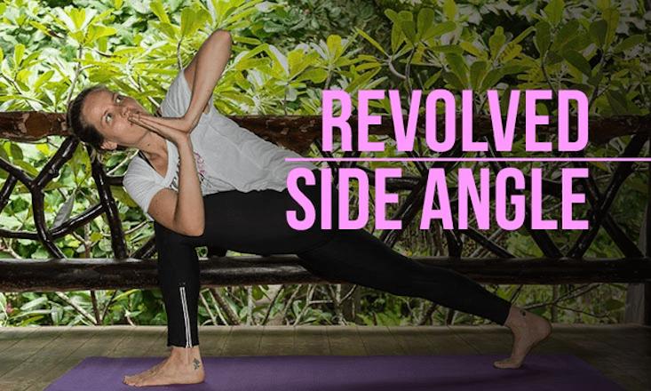 How To Do Revolved Side Angle Pose