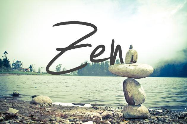 Three Places to Find Zen