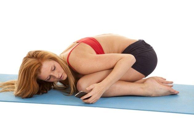 Put Your Phone Away During Yoga Class…Seriously