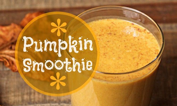 Recipe: Pumpkin Pick-Me-Up Smoothie