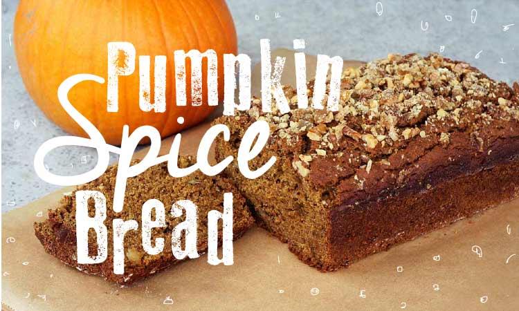 Recipe: Yummy Fall-Time Pumpkin Spice Bread