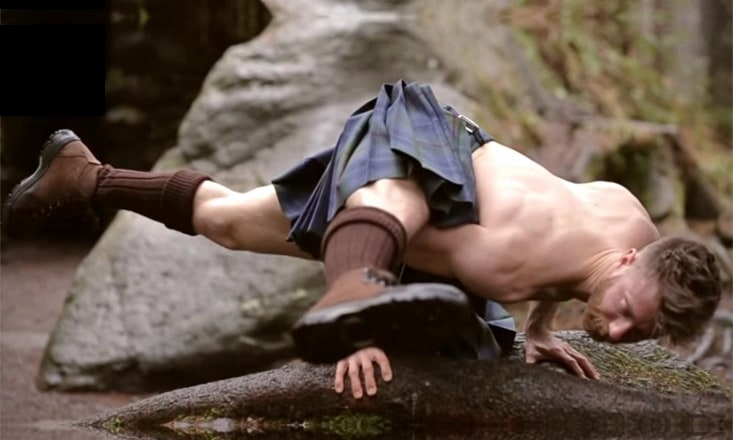 The Beloved Kilted Yoga Teacher Received Homophobic Death Threats