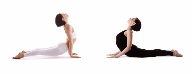 The Difference Between Upward-Facing Dog and Cobra Pose