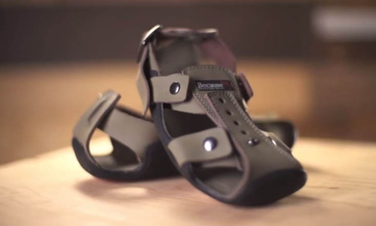 The Shoe That Grows 5x Its Size to Protect Kids in Poverty One Step at a Time