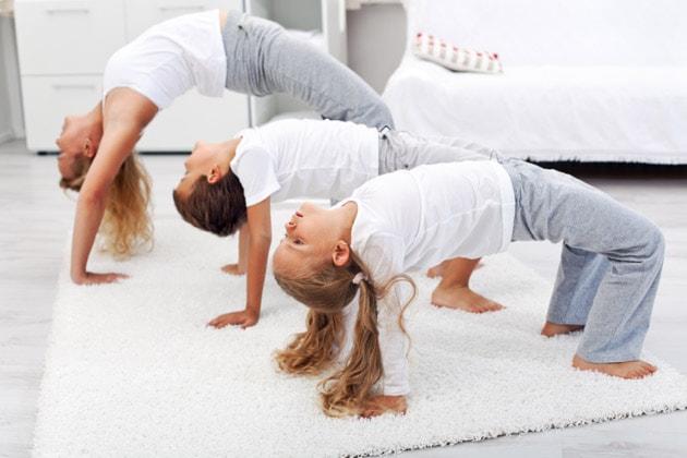 The Yoga Of Kindergarten: Don't Poke