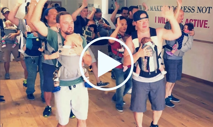 This Daddy-Baby Dance Session is 100% Adorable (VIDEO)