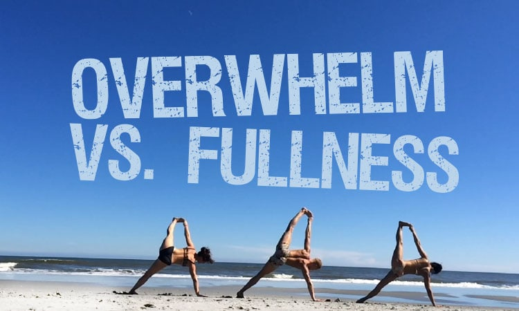 We Are NOT Overwhelmed