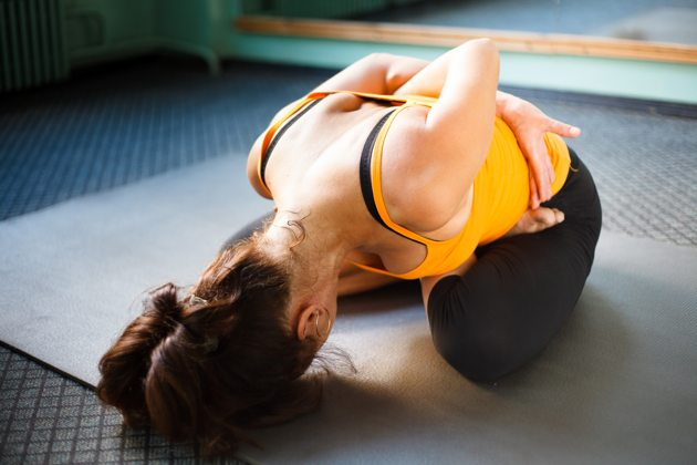 What To Do When You're Stuck In Your Yoga Practice
