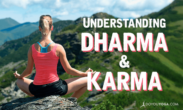 What is the Relationship Between Dharma and Karma?