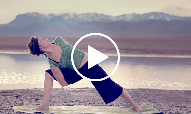 Where Earth Meets Sky: A Beautiful, Down-to-Earth Yoga Practice (VIDEO)