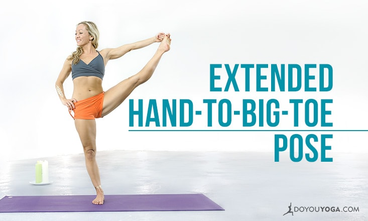 Yoga Pose Breakdown With Kino MacGregor: Extended Hand-to-Big-Toe Pose