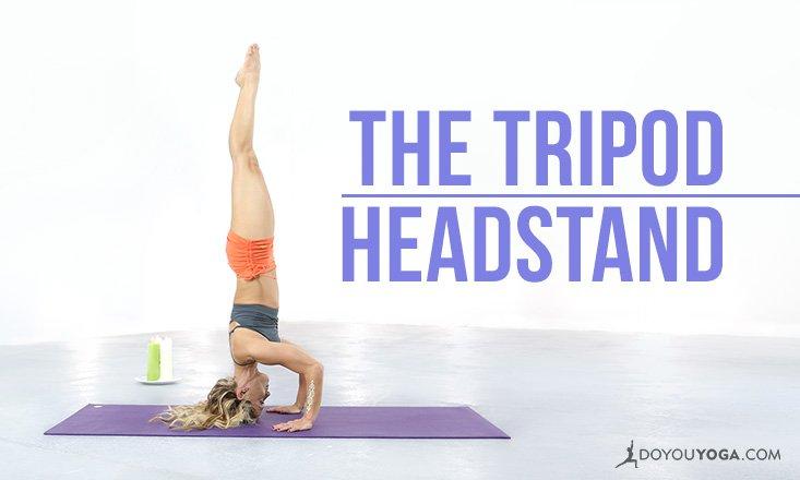 Yoga Pose Breakdown With Kino MacGregor: The Tripod Headstand