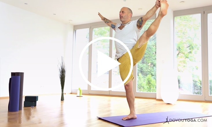 Yoga to Build Balance Through Strength (VIDEO)