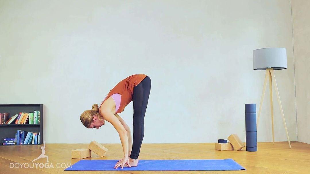 Standing Forward Fold Pose / Uttanasana