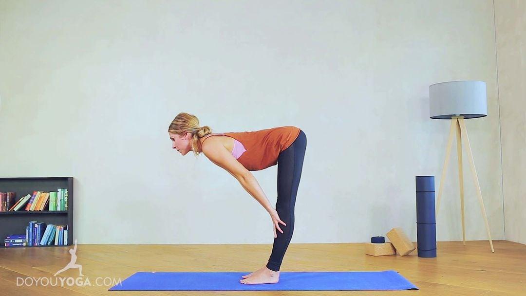 Half Standing Forward Fold Pose / Ardha Uttanasana